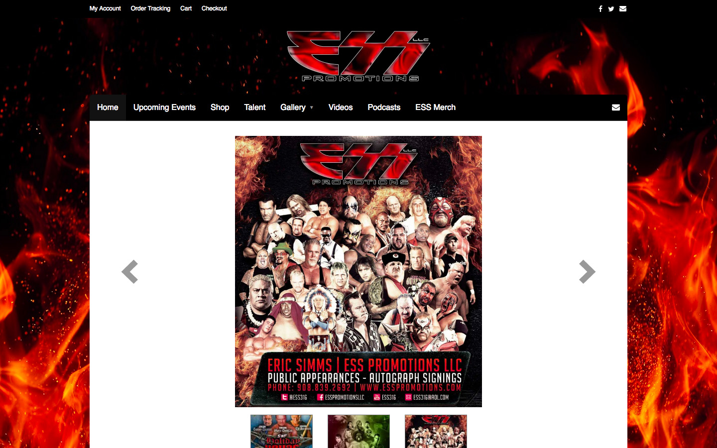 Website Development for ESS Promotions LLC