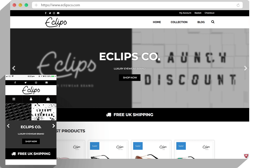 eclips-ecommerce-website-design
