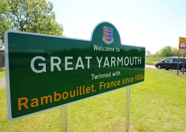 great-yarmouth-sign