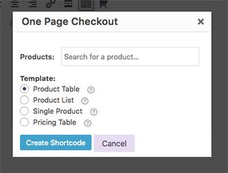 one-page-checkout-editor-interface