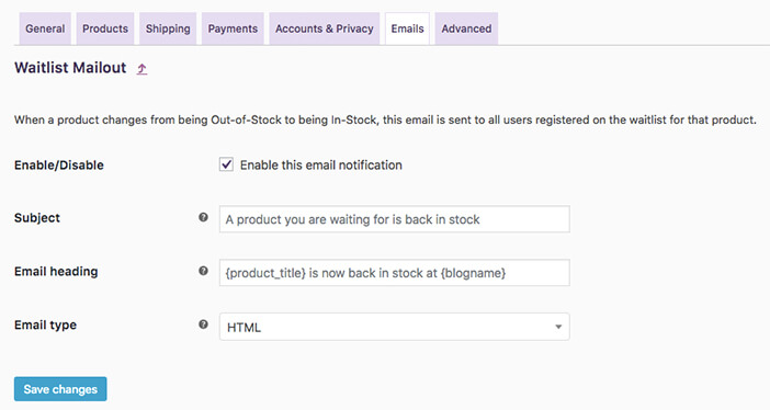 product-waitlist-email-settings
