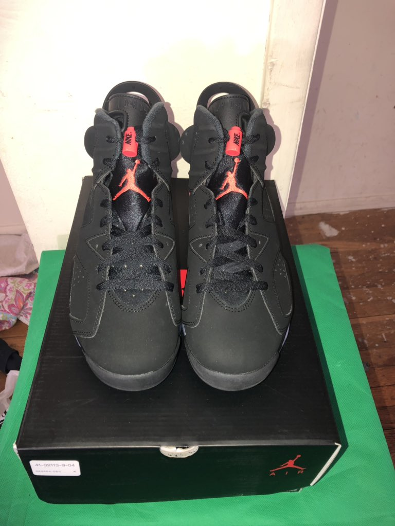 size 40 32c18 b953d Air Jordan 6 Retro OG 'Infrared'